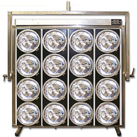 Aircraft Landing Light 16 Burner par 64