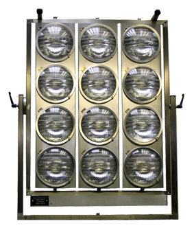 Dinolight 12 KW  Jumbo Light par 64 light