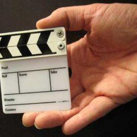 Filmklappe Mini Gegenlicht Kunststoff