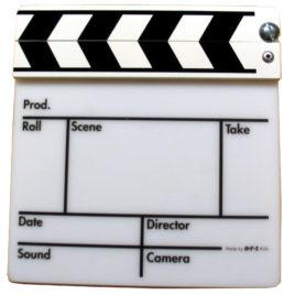 Filmklappe groß Gegenlicht Kunststoff