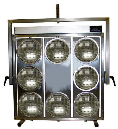 Aircraft Landing Light 8 Burner