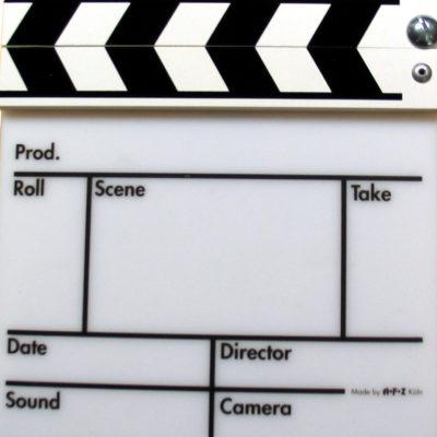 movie clapper board www.afzk.de