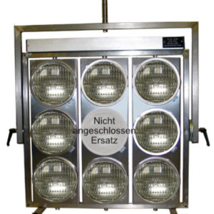 ACL Light-Aircraft Landing Light 8 Burner par 64