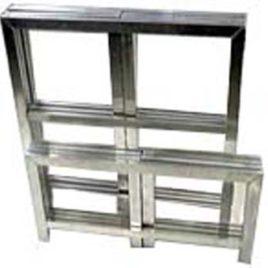 Praktikabel 0,5x1x1 Meter Aluminium