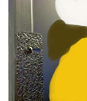 Shiny board 1x1m Ersatz Reflektor Silber glänzend