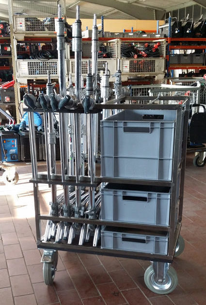 film equipment cart
