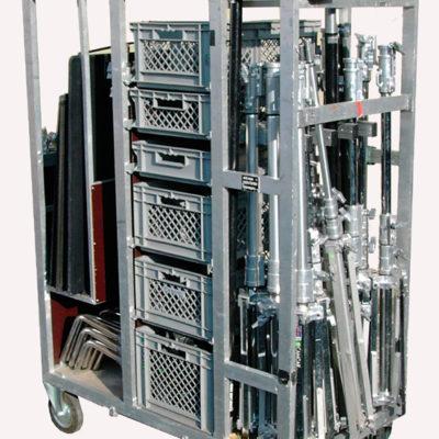Film Equipment cart Trolley