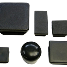 Kunststoff Stopfen Abschluss Kappen 25×50
